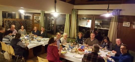 Freie Wähler Hohberg diskutierten am Aschermittwoch 2017