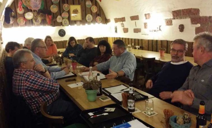 Treffen FWH mit Vereinsvorständen Hohberg